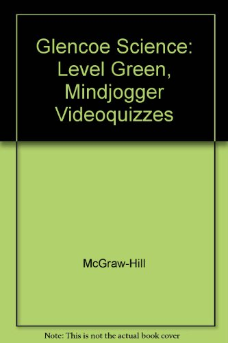 Science, Level Green: Mindjogger VHS Videoquizzes, Packaged Set (2003 Copyright)
