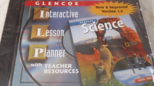 9780078288340: Glencoe Science: Level Red, Interactive Lesson Planner CD-Rom