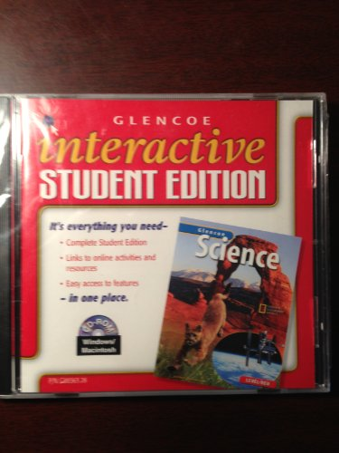 9780078288364: Glencoe Science: Interactive Student Edition CD-ROM Level Red