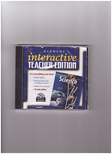 9780078288456: Interactive Teacher Edition CD-ROM Level Green (Glencoe Science)