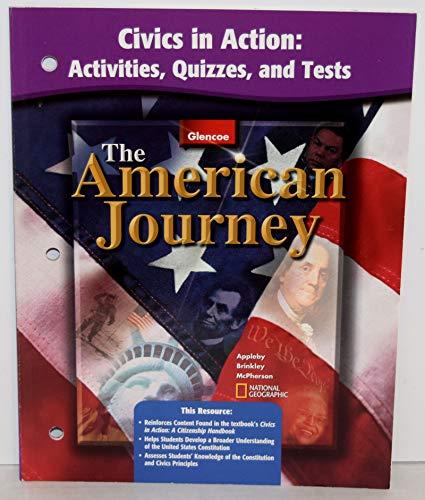 9780078288661: American Journey Civics In Action Activities Quizzes Tests