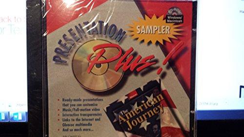 9780078290015: American Journey Presentation Plus! Win Software Sampler 2003