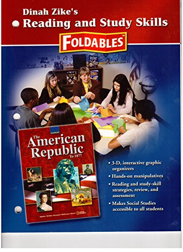 9780078291487: American Republic to 1877, Reading and Study Skills Foldables