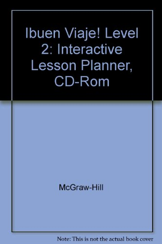 Ibuen Viaje! Level 2: Interactive Lesson Planner, CD-Rom: McGraw-Hill
