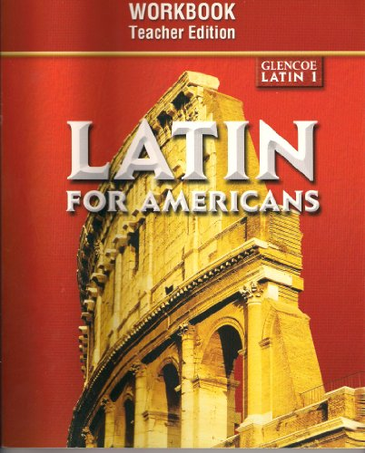 9780078292231: Latin for Americans: Level 1 Writing Activities Workbook, Teacher Edition