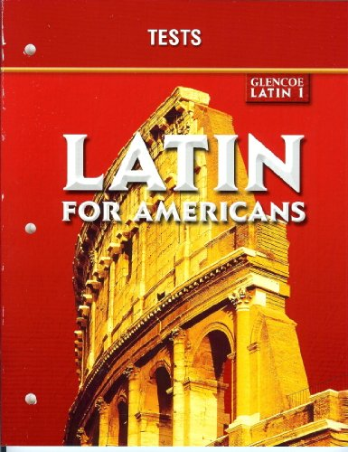 Latin for Americans Level 1: Tests: McGraw-Hill