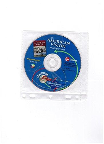 9780078292330: American Vision, Presentation Plus! CD-Rom, Windows