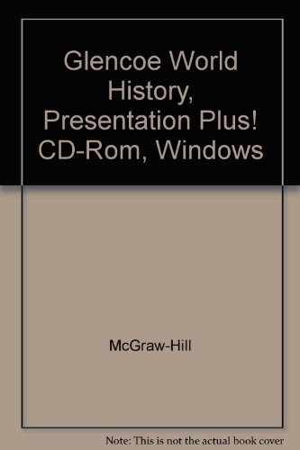 Glencoe World History, Presentation Plus! CD-Rom, Windows [Import] [Hardcover.: McGraw-Hill