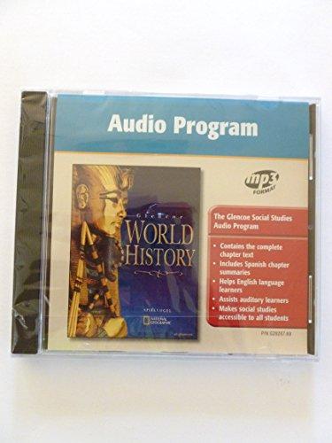9780078292873: Glencoe World History Audio Program