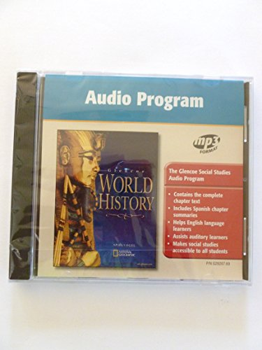 9780078292873: Glencoe World History Audio Program