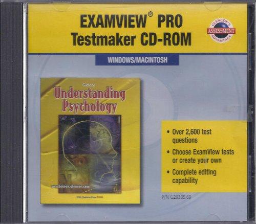 9780078293054: Understanding Psychology Examview Pro Testmaker CD-Rom