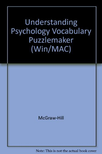 9780078293061: Understanding Psychology Vocabulary Puzzlemaker (Win/MAC)