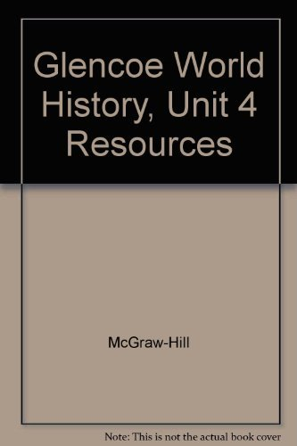 9780078294365: An Era of European Imperialism. Unit 4 Resources (Glencoe World History)
