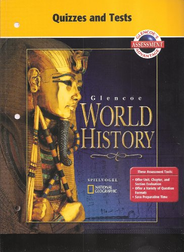 9780078294440: Glencoe World History, Quizzes and Tests