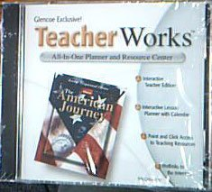 9780078295881: Glencoe TeacherWorks The American Journey CD-ROM (All-In-One Planner and Resource Center, Teacher Wrap Around Edition)