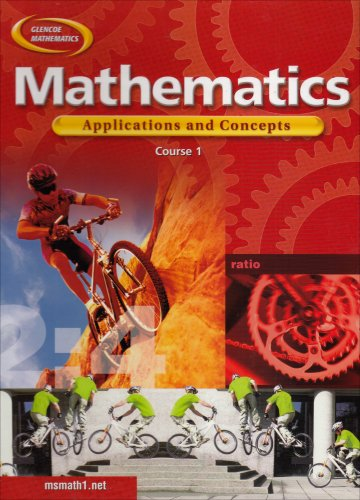 9780078296314: Mathematics: Applications and Concepts, Course 1, Student Edition