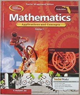 9780078296321: Mathematics: Applications and Concepts 2004, Course 1 Teacher Wraparound Edition
