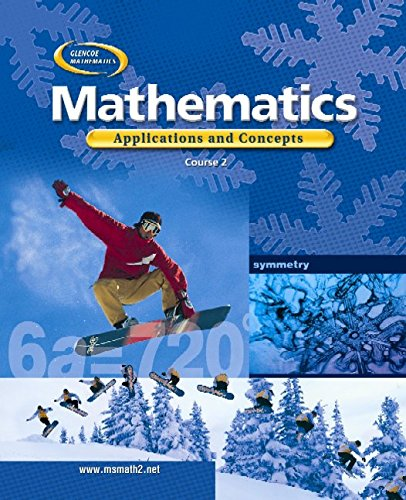 9780078296338: Glencoe Mathematics Applications and Concepts Course 2