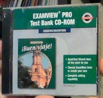 9780078296468: Buen Viaje!, Level 2: Examview Pro Test Bank