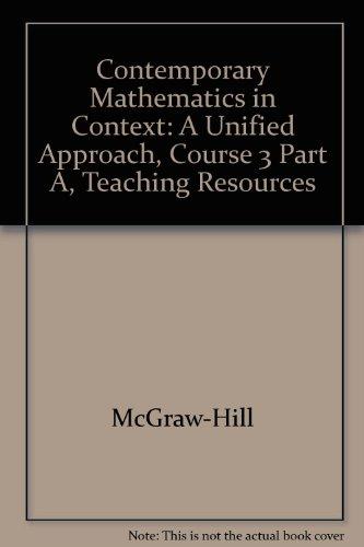 9780078297229: Contemporary Mathematics in Context