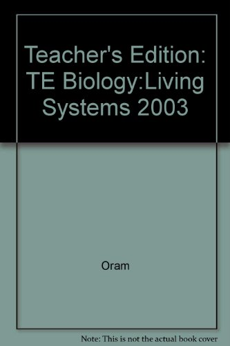 9780078297328: Biology Living Systems Teacher Edition