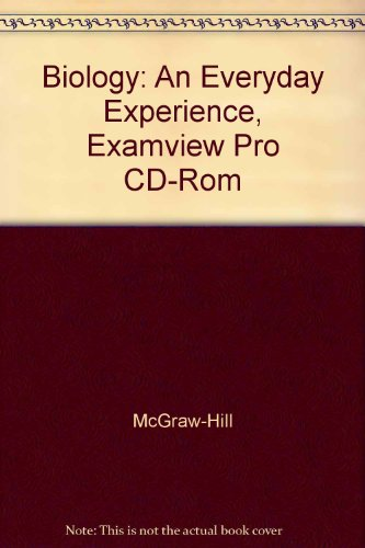 9780078297533: Biology: An Everyday Experience, Examview Pro CD-Rom
