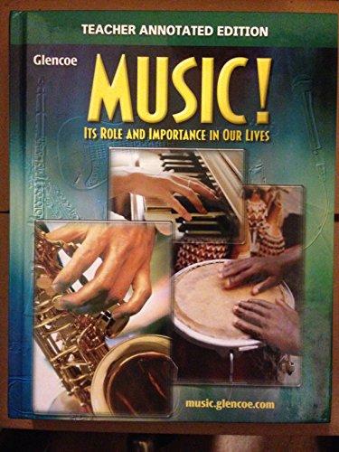 Glencoe Music: It's Role and Importance in: DeGraffernreid