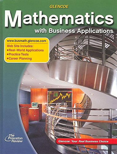 9780078298066: Mathematics with Business Applications, Student Edition (LANGE: HS BUSINESS MATH)