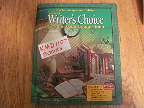9780078298097: Writer's Choice : Grammar and Composition, Grade 8, Teacher