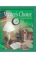 9780078298165: Writer's Choice: Grammar and Composition, Grade 8, Student Edition