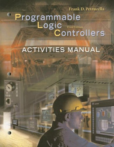 9780078298554: Activities Manual to accompany Programmable Logic Controllers