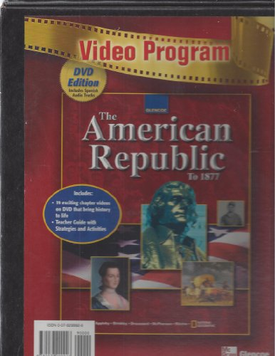 9780078299926: American Republic to 1877, Video Program, DVD