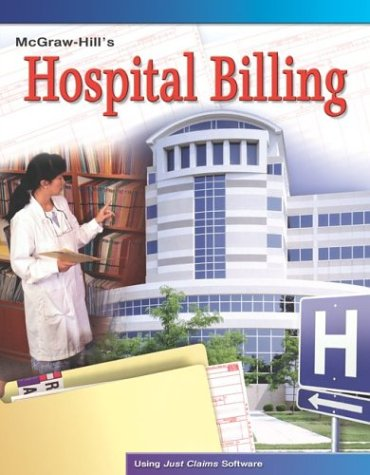9780078300158: Hospital Billing, Student Text with Data Disk