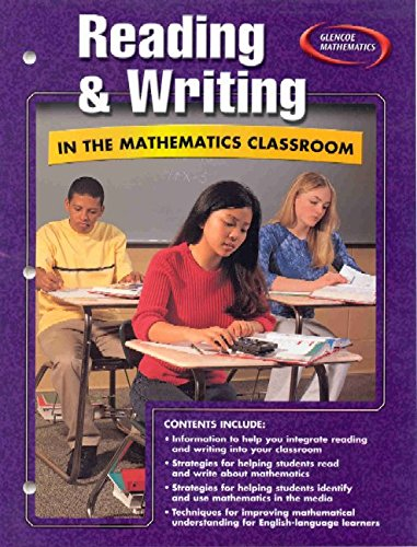 Reading and Writing in the Mathematics Classroom: McGraw-Hill Education