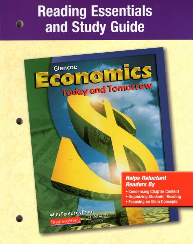 9780078301087: Economics Today and Tomorrow Reading Essentials and Study Guide