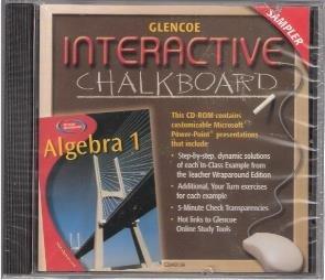9780078304019: Interactive Chalkboard: Algebra 1