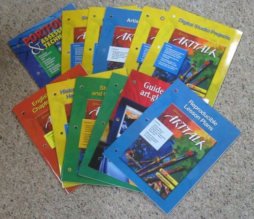 9780078306013: Arttalk, Teacher Classroom Resources