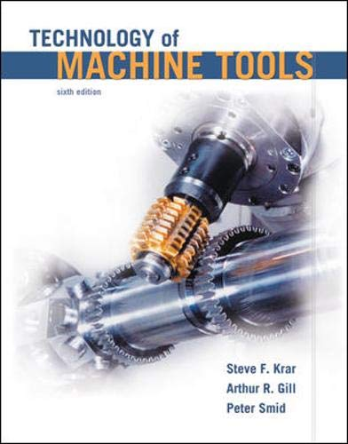 Technology of Machine Tools, 6th Edition: Smid, Peter, Gill,