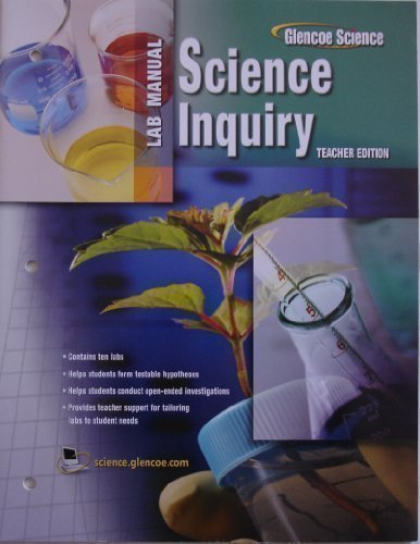 Biology: The Dynamics of Life, Science Inquiry: Glencoe Science