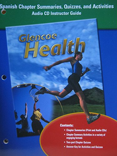 9780078309397: Glencoe Health, Chapter Summaries, Quizzes, and Activities Booklet (Spanish)