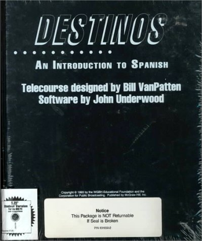 9780078331367: Destinos: An Introduction to Spanish