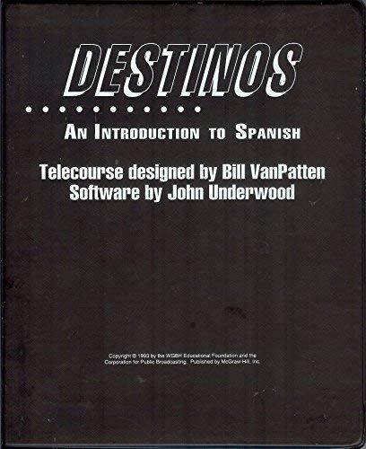 9780078331374: Destinos Mhelt 3.5 IBM: An Introduction to Spanish