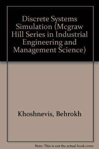 9780078333026: Discrete Systems Simulation/Book and Disk (Mcgraw Hill Series in Industrial Engineering and Management Science)