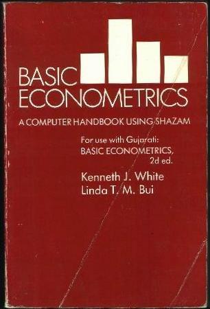 9780078344633: Basic Econometrics: A Complete Handbook Using Shazam