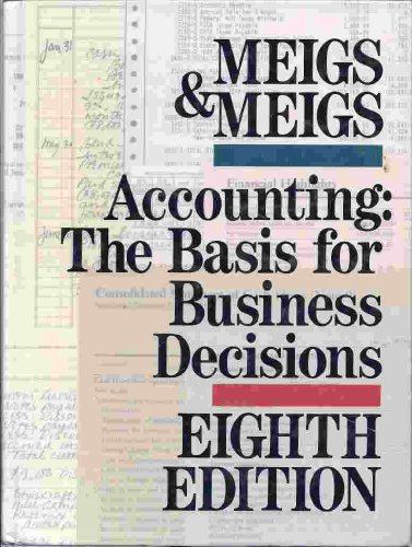 9780078352928: Accounting: The Basis for Business Decisions
