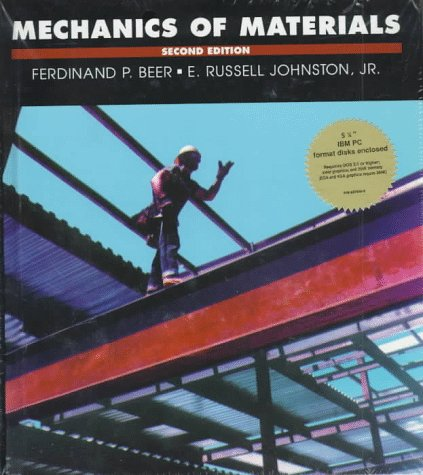 9780078373404: Mechanics of Materials/Book and 5 1/4 Inch Disk