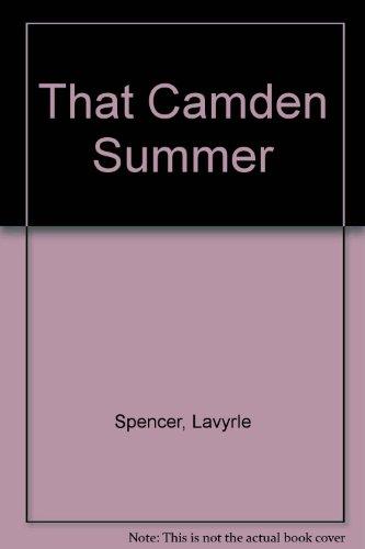 9780078381607: That Camden Summer