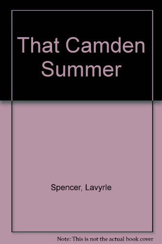 9780078381607: That Camden Summer