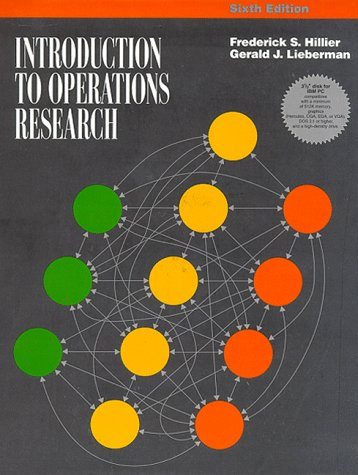 Introduction To Operations Research (IBM): Hillier, Frederick S.,