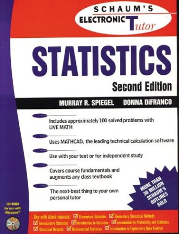 9780078439902: Schaum's Outline of Theory and Problems of Statistics (Schaum's Outlines)